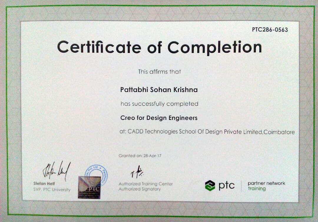 Cero Design Engineer Training Courses Cero Design Engineer
