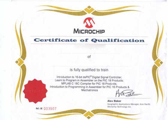 certification arm microchip